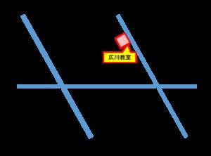 広川教室地図